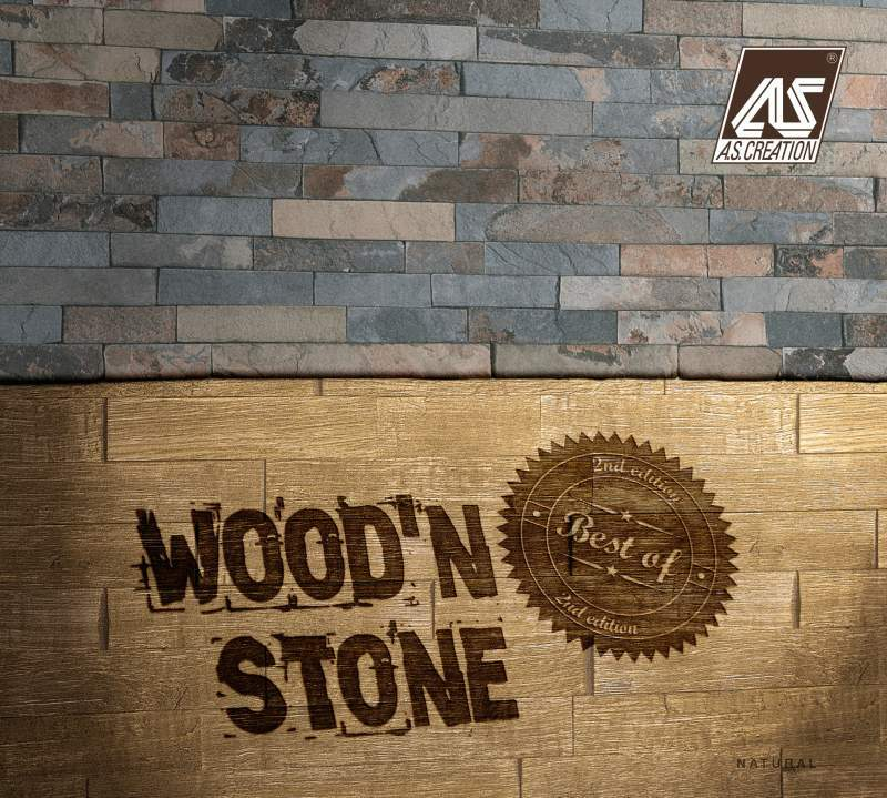 Tapety na zeď Best of Wood and Stone 2020