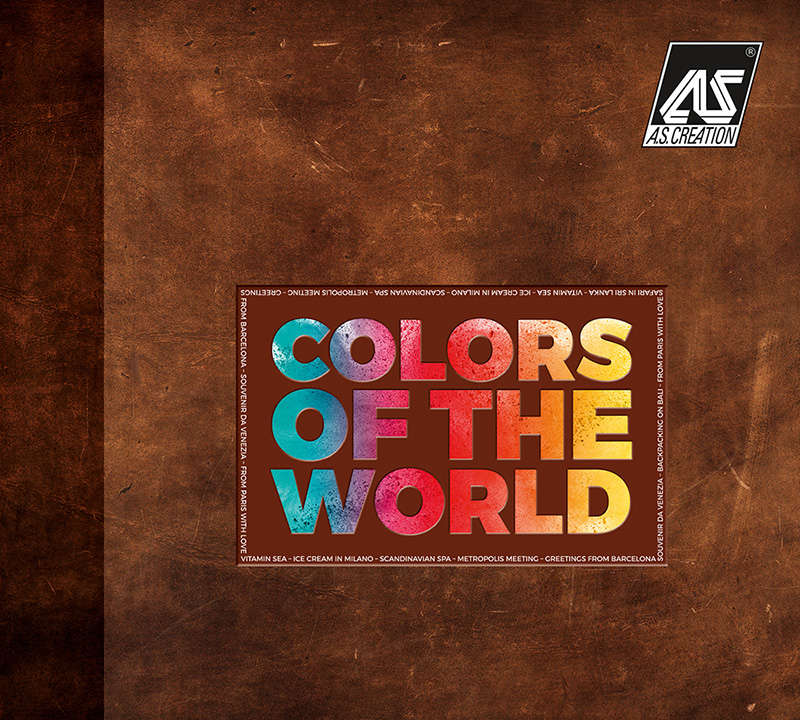 Tapety n azeď Colours of the World