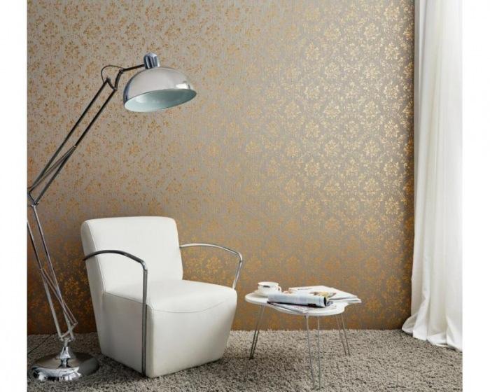 30662-5 Tapety na zeď Metallic Silk - Textilní tapeta Tapety AS Création - Metallic Silk