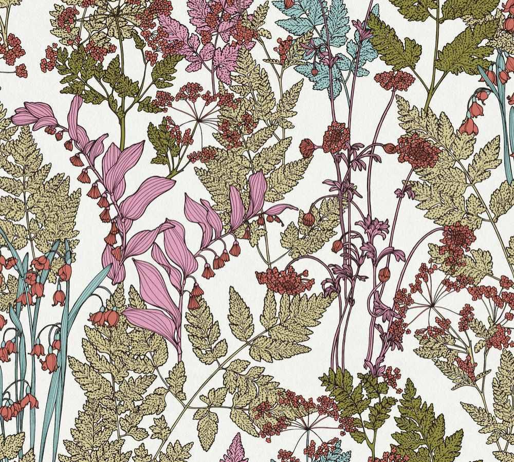 37751-3 Tapeta AP Floral Impression AS Création