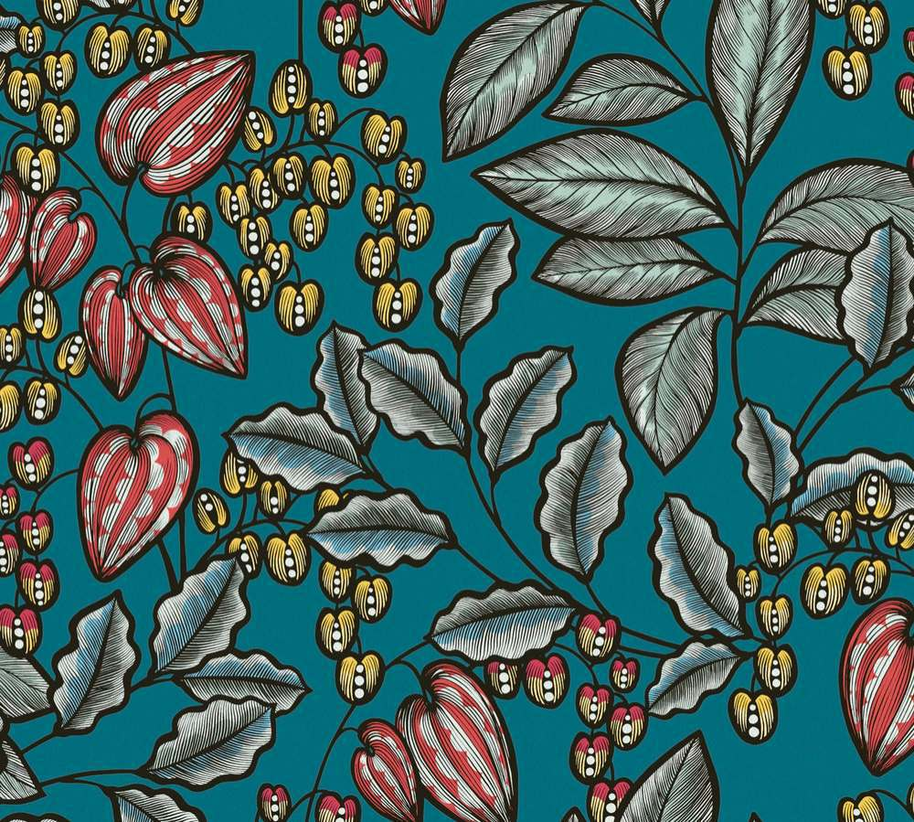 37754-2 Tapety na zeď AP Floral Impression - Vliesová tapeta Tapety AS Création - AP Floral Impression