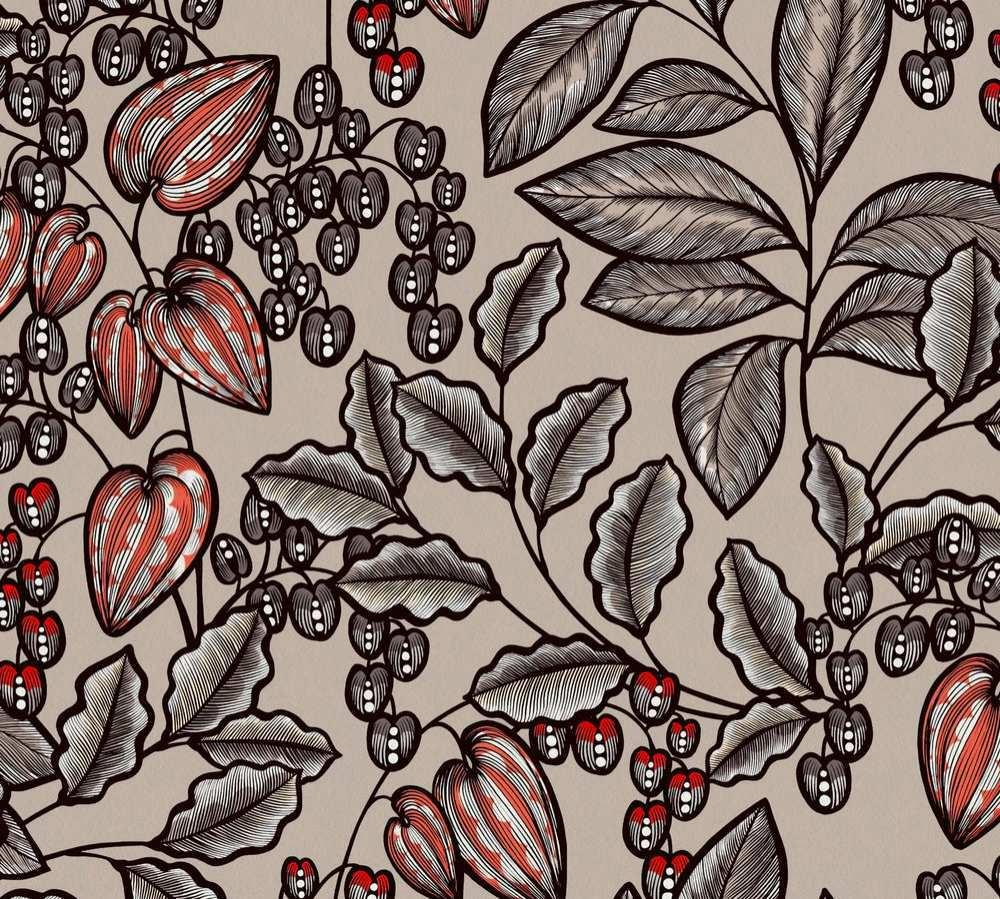 37754-3 Tapety na zeď AP Floral Impression - Vliesová tapeta Tapety AS Création - AP Floral Impression