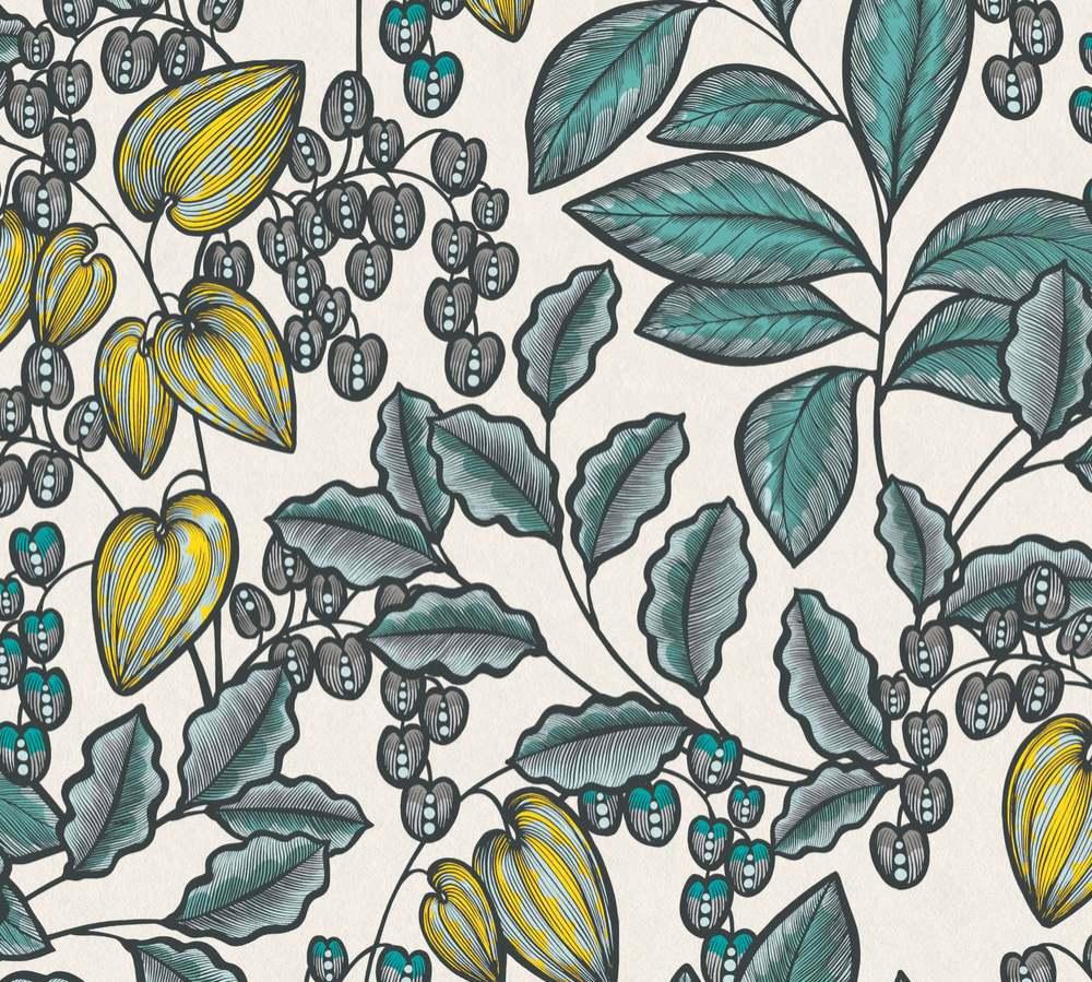 37755-1 Tapety na zeď AP Floral Impression - Vliesová tapeta Tapety AS Création - AP Floral Impression