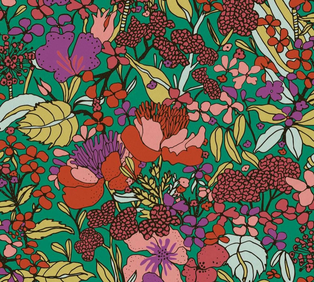 37756-1 Tapety na zeď AP Floral Impression - Vliesová tapeta Tapety AS Création - AP Floral Impression