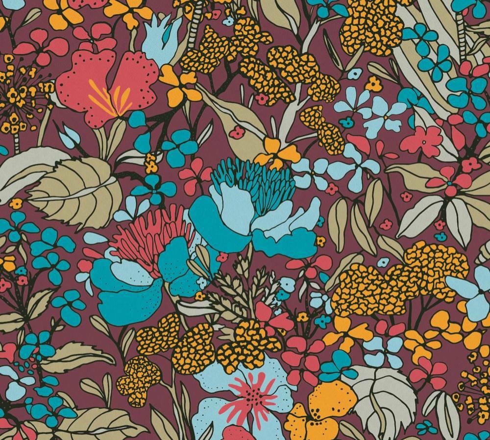 37756-3 Tapety na zeď AP Floral Impression - Vliesová tapeta Tapety AS Création - AP Floral Impression