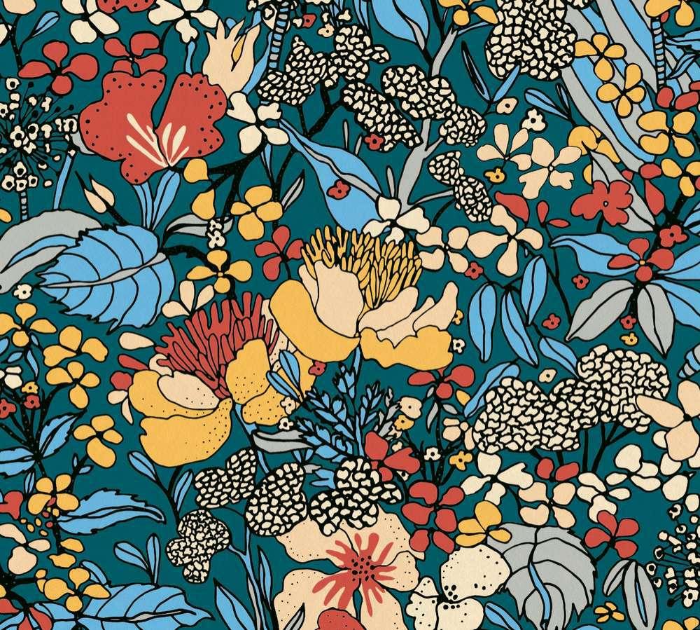 37756-4 Tapeta AP Floral Impression AS Création