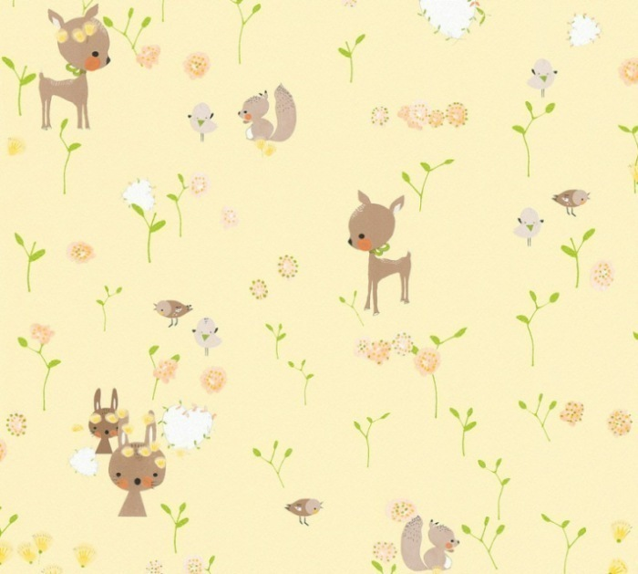 36988-2 Dětské tapety na zeď Boys and Girls 6 - Papírová tapeta Tapety AS Création - Boys and Girls 6