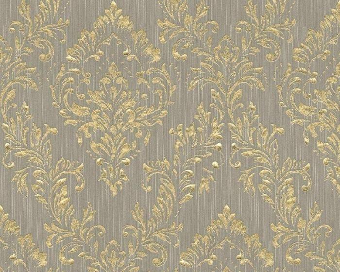 30659-3 Tapety na zeď Metallic Silk - Textilní tapeta Tapety AS Création - Metallic Silk