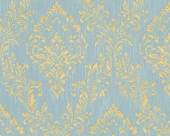 30659-5 Tapety na zeď Metallic Silk - Textilní tapeta Tapety AS Création - Metallic Silk