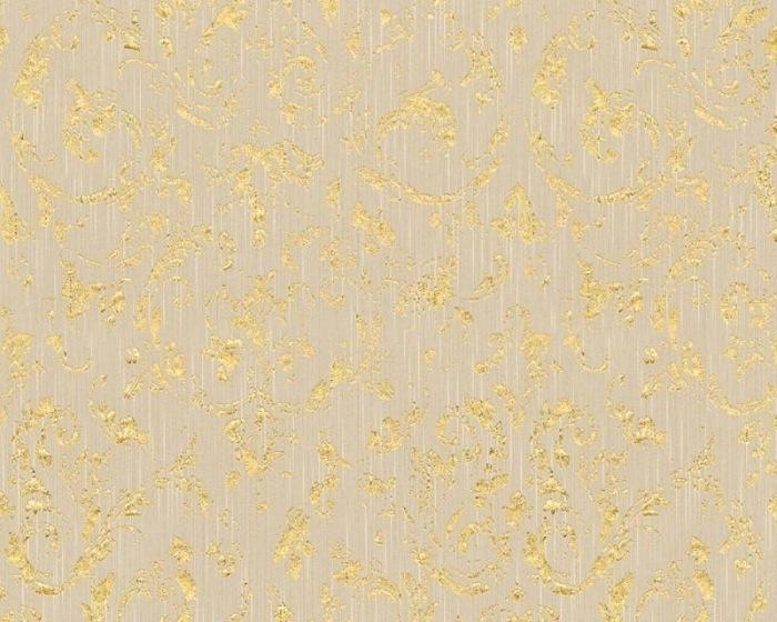 30660-2 Tapety na zeď Metallic Silk - Textilní tapeta Tapety AS Création - Metallic Silk